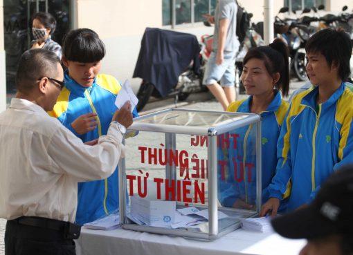 Chơi thể thao gây quỹ từ thiện