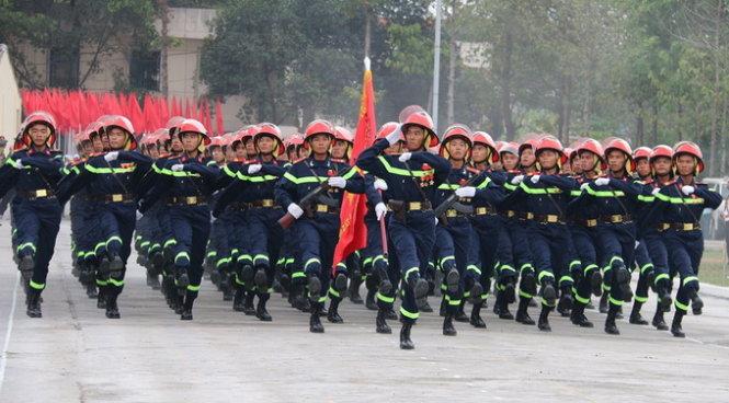 Đại học Phòng cháy Chữa cháy là nơi duy nhất đào tạo lính cứu hỏa
