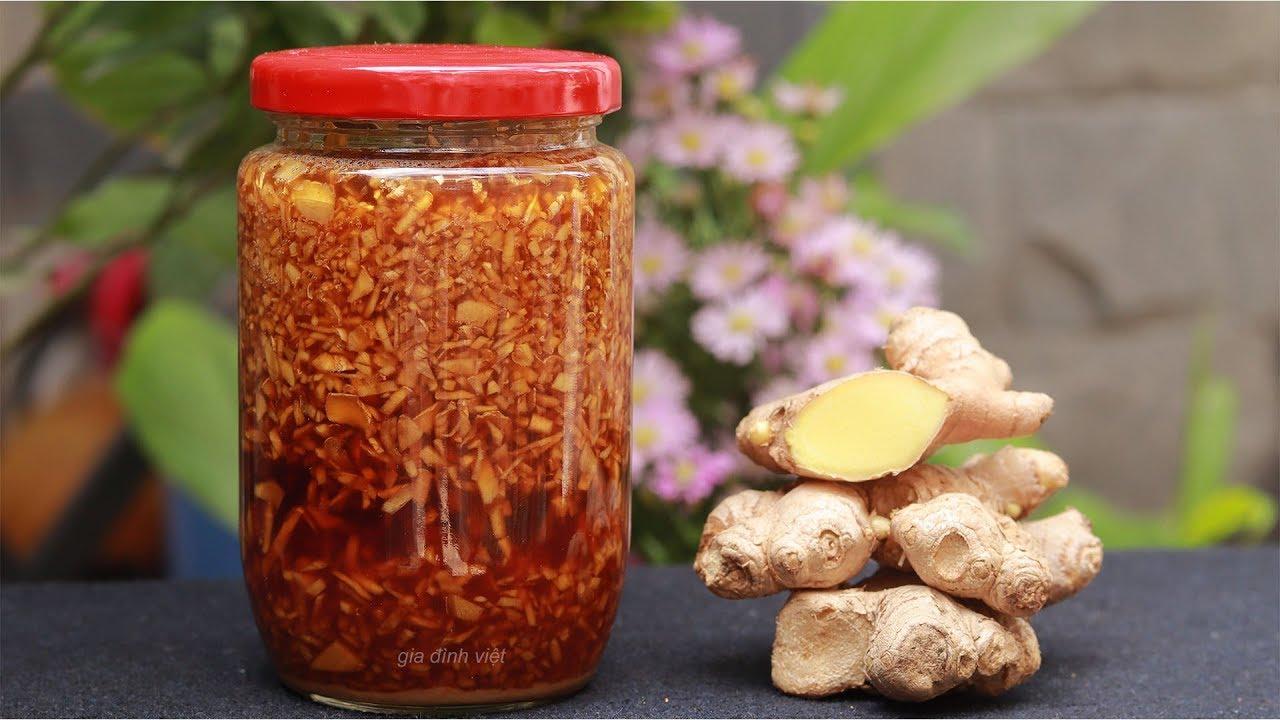 Mật ong và gừng có tác dụng rất tốt trong việc điều trị ho
