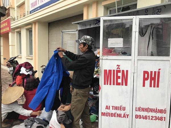 Tủ quần áo từ thiện tại Hà Nội